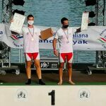 Canoa - tris ai Campionati Italiani ragazzi